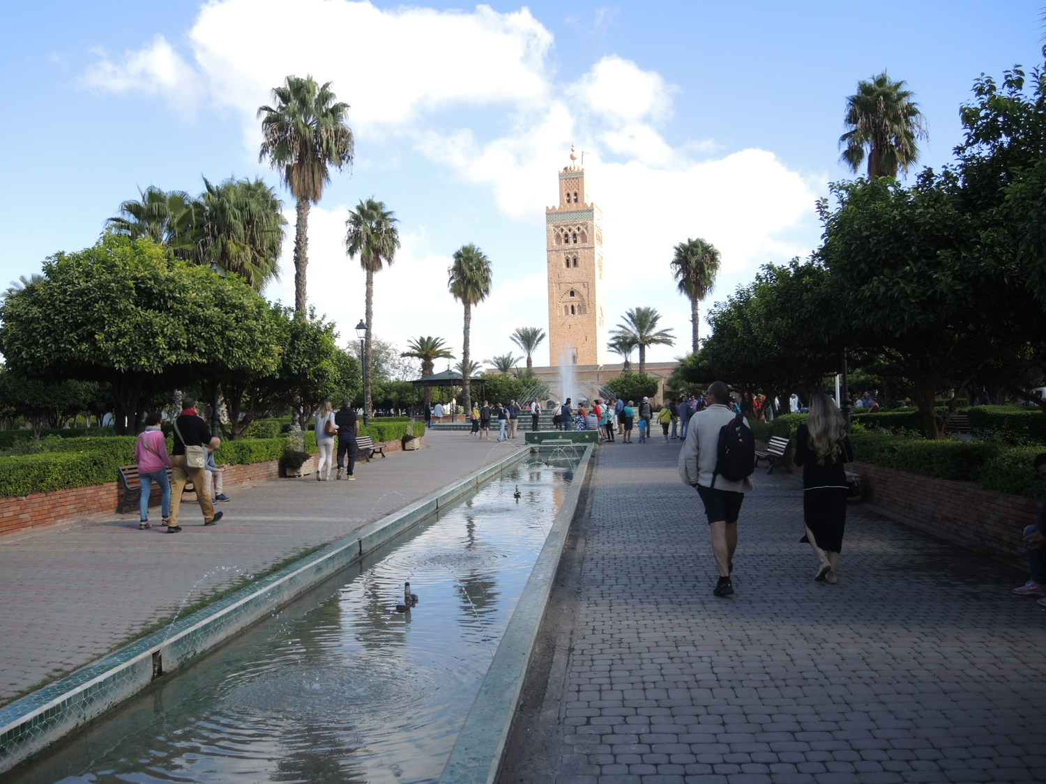 El Koutoubia mosque in Marrakech
