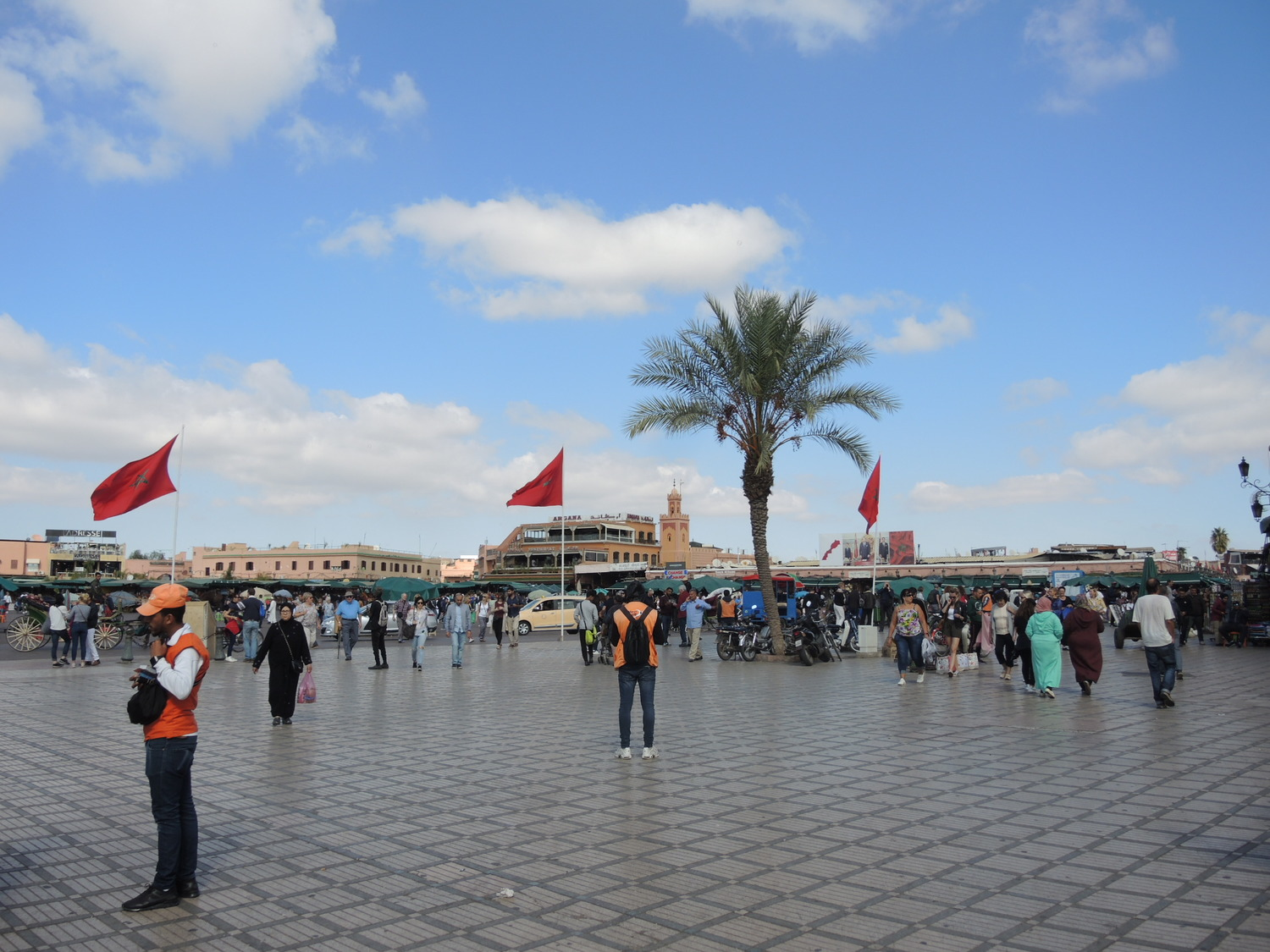 Jamaa El Fna square during the day