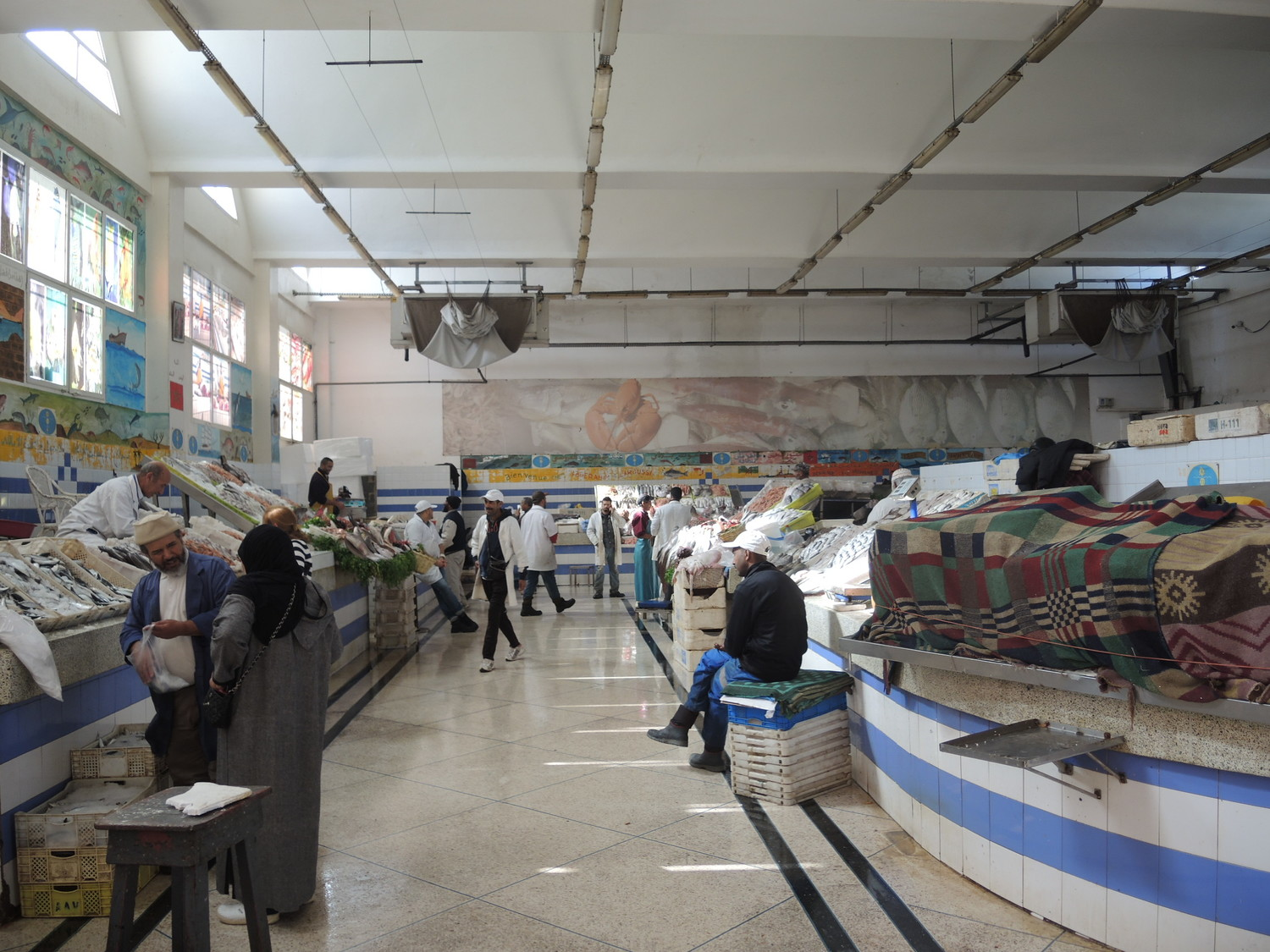 El Massira fish market