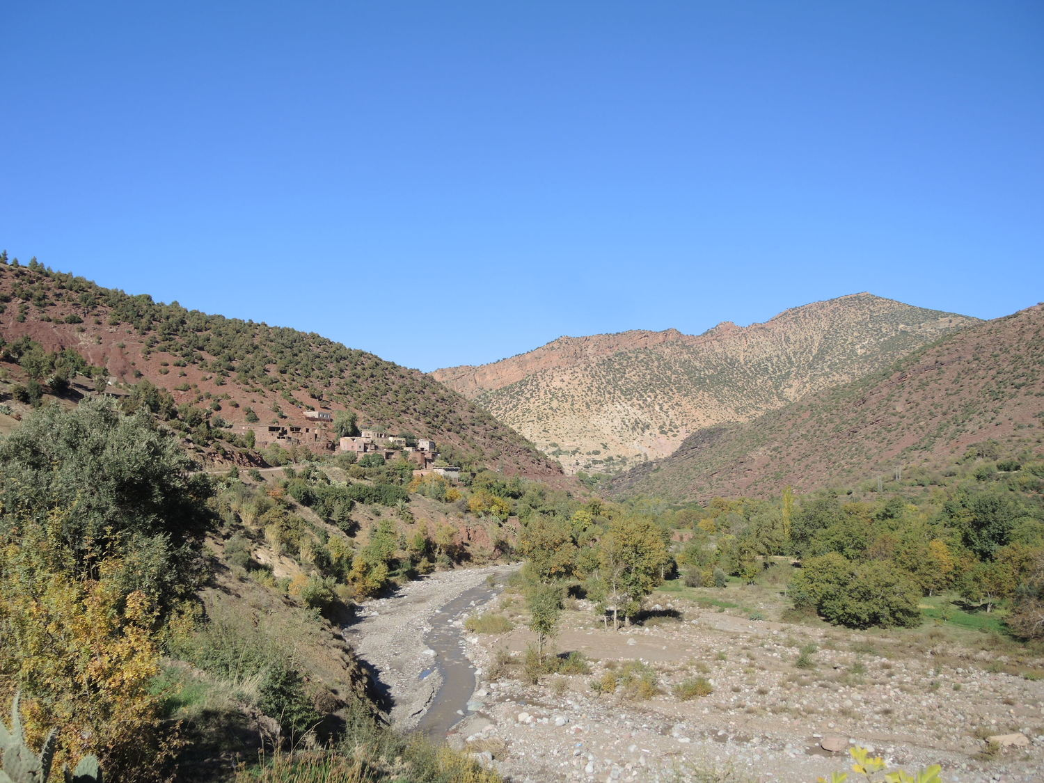 Road in Atlas Mountains