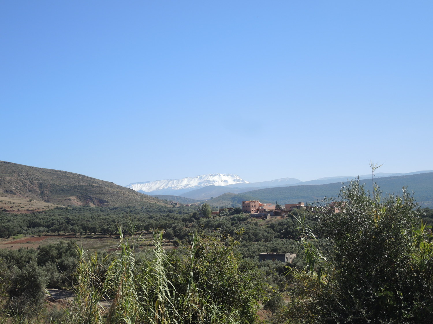 Snowy Atlas Mountains