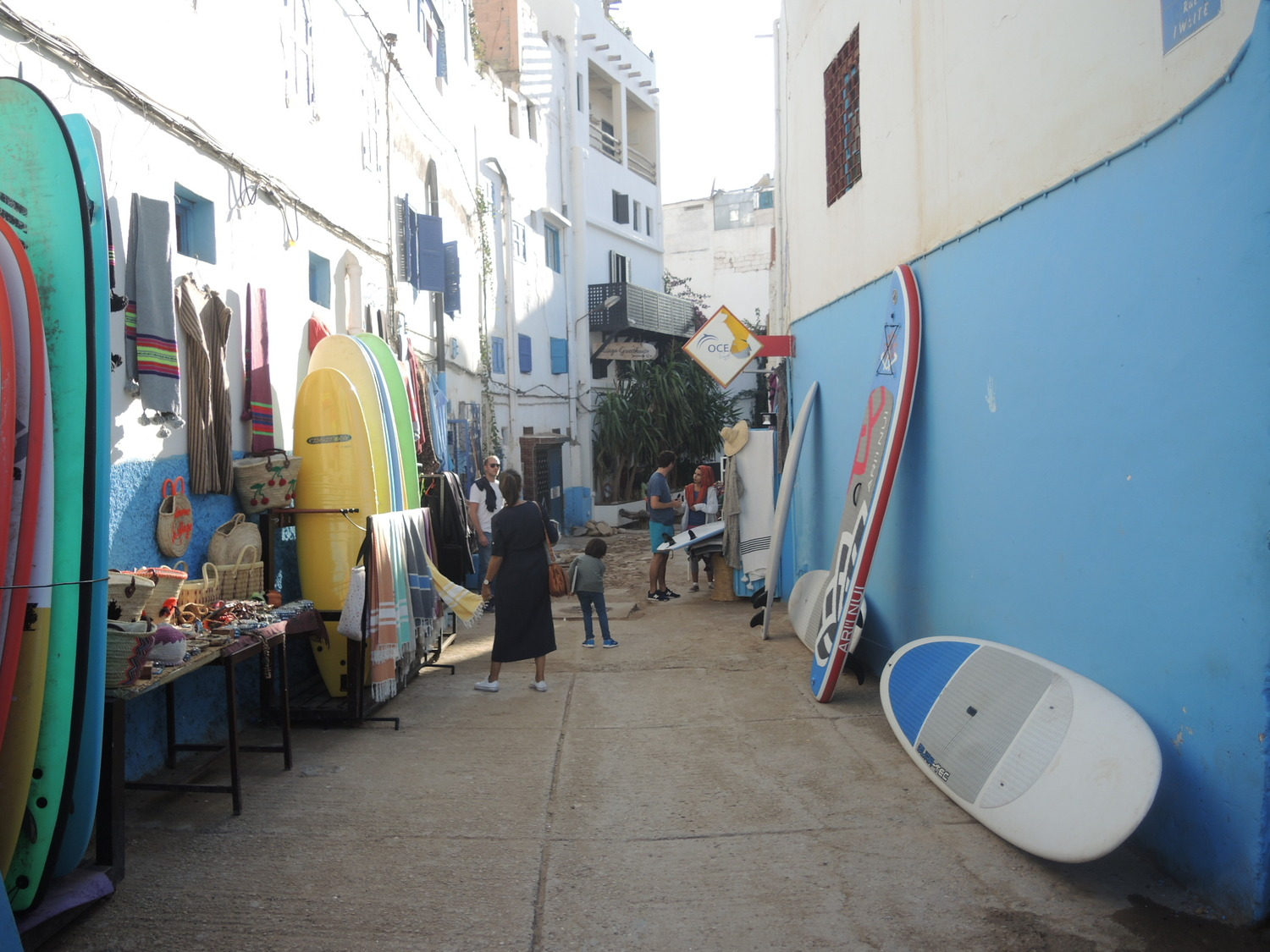 Surfboard rentals in Taghazout