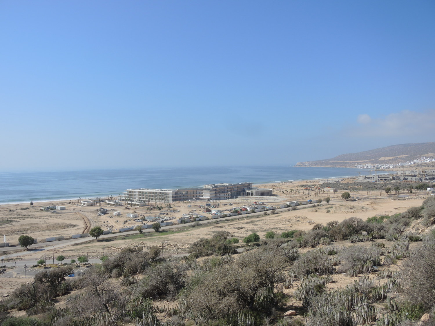 Construction sites in Taghazout