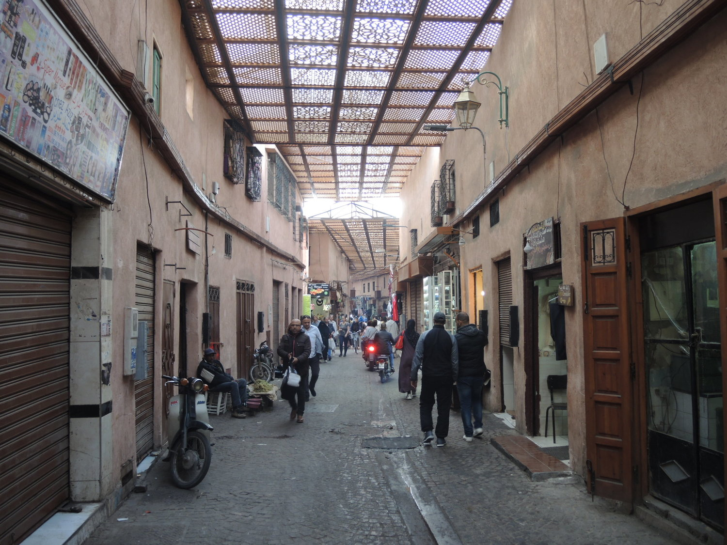 Der Dabachi street in Marrakech