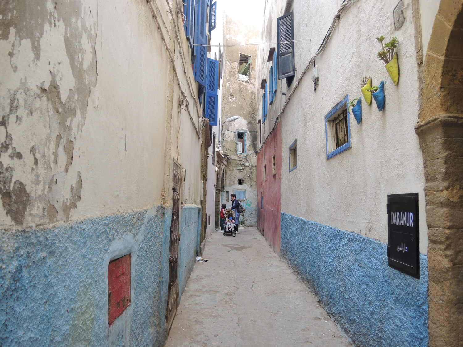 Street of the medina in Essaouira