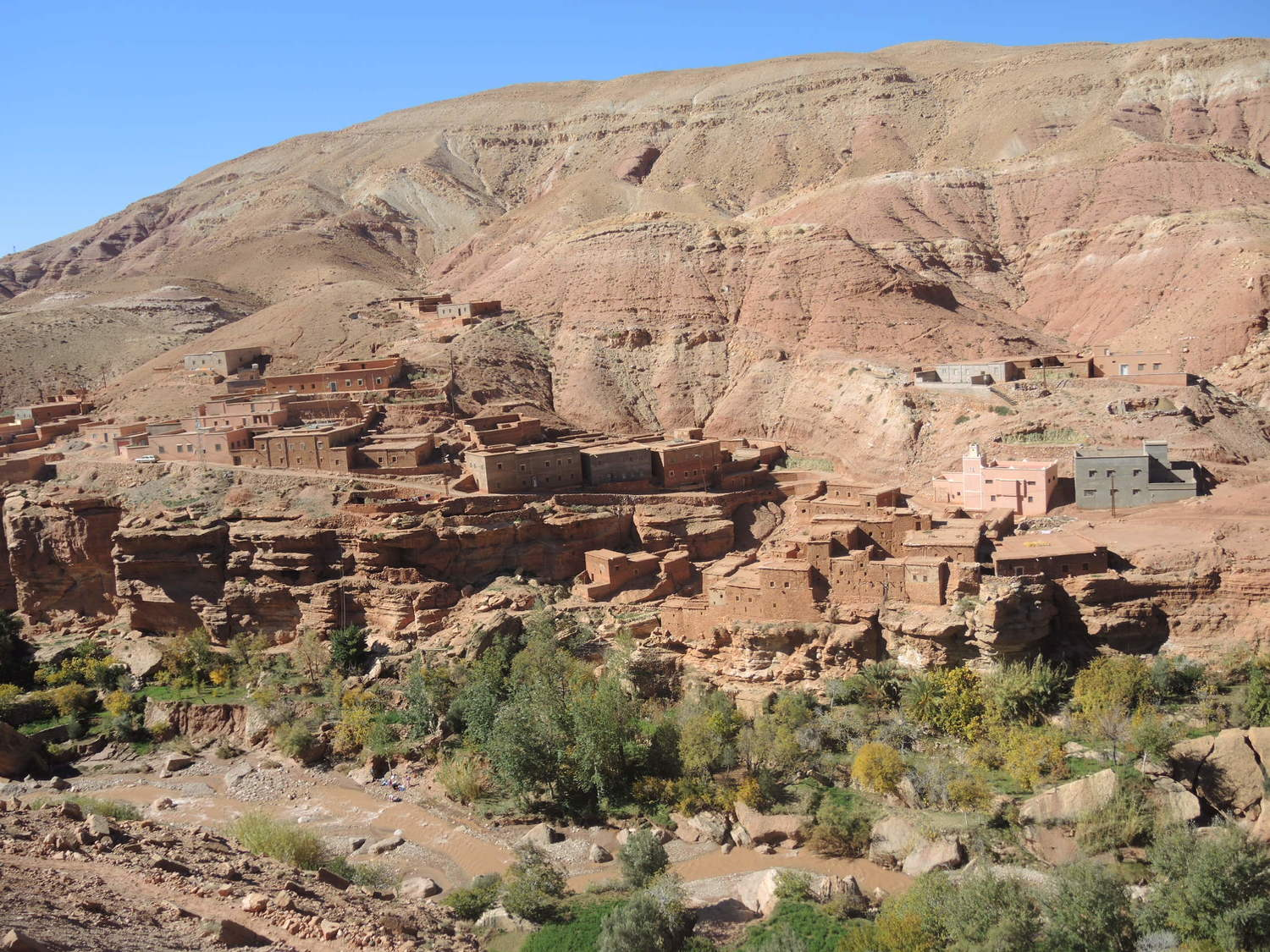 Beautiful Atlas Mountains in Morocco
