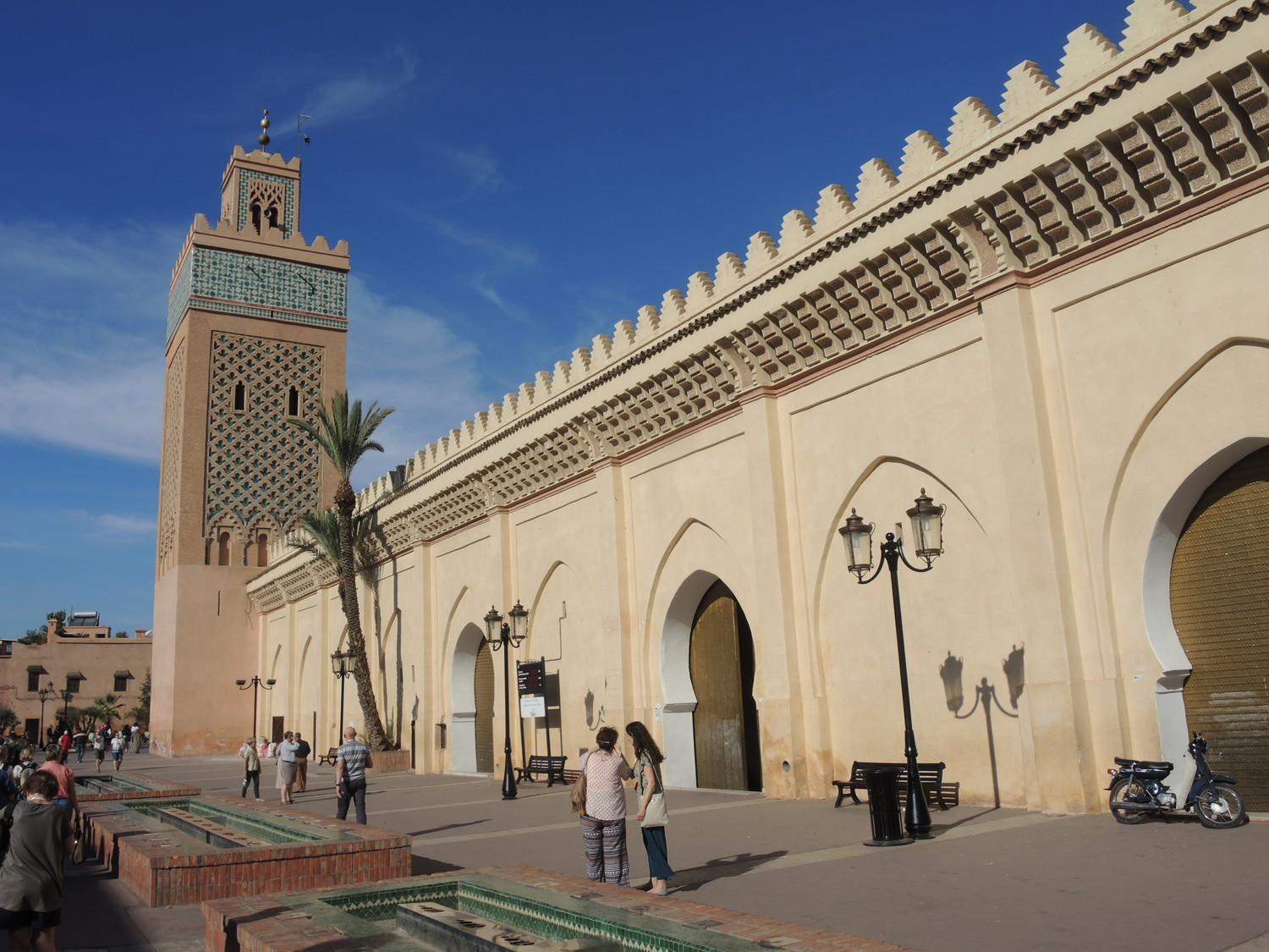 Saadian mausoleum in Marrakech