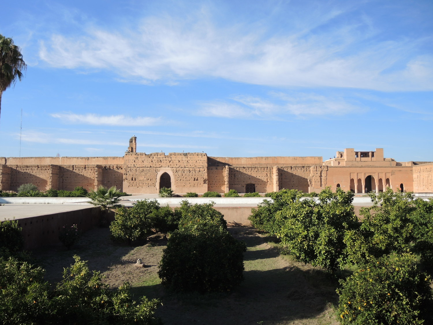 El Badi Palace in Marrakech
