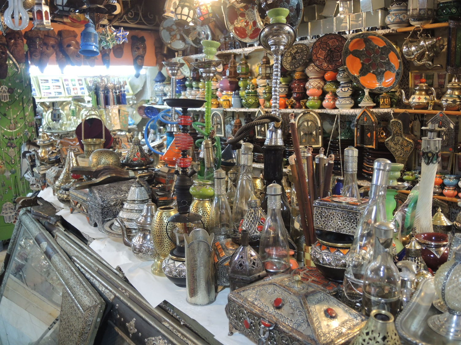 Souvenirs in Marrakech
