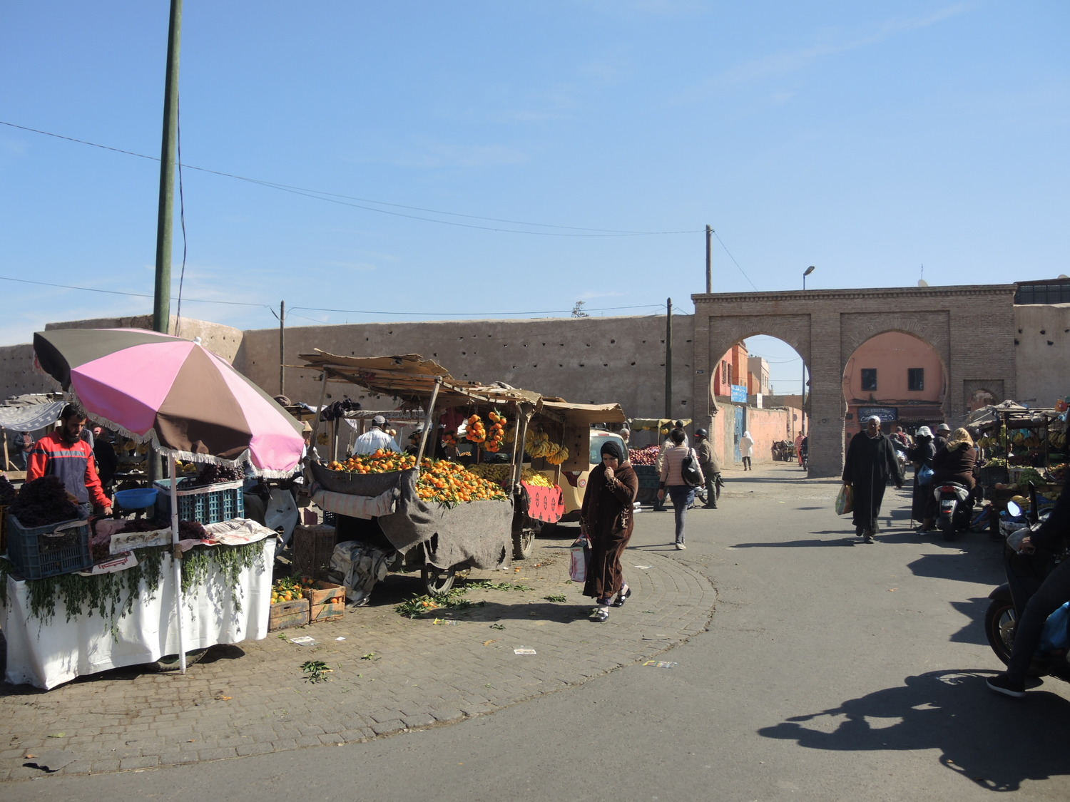 Street market in Marrakech