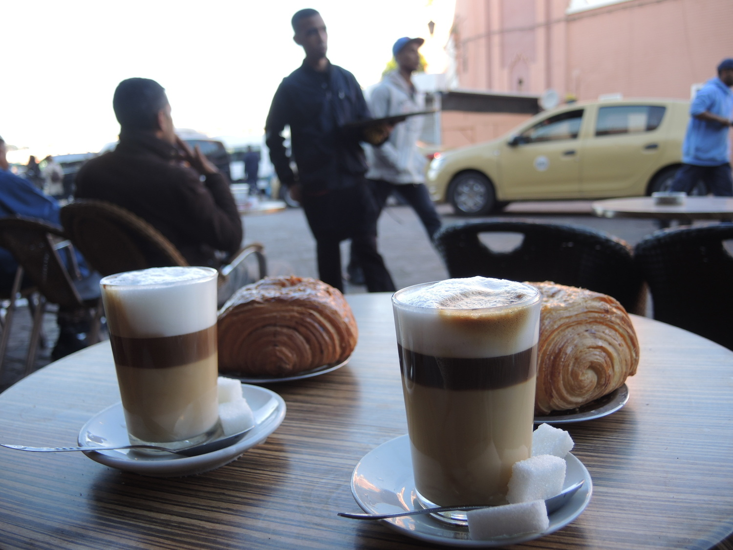 Coffee time in Marrakech