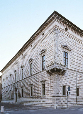 The_diamond_palace_in_Ferrara
