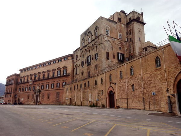 The Palace of Normans in Palermo
