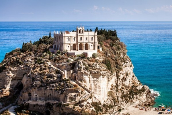 St Mary of island in Calabria