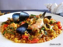Fregola_with_seafood_and_saffron