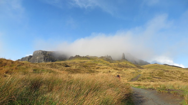 Scotland by car. Old man of Storr