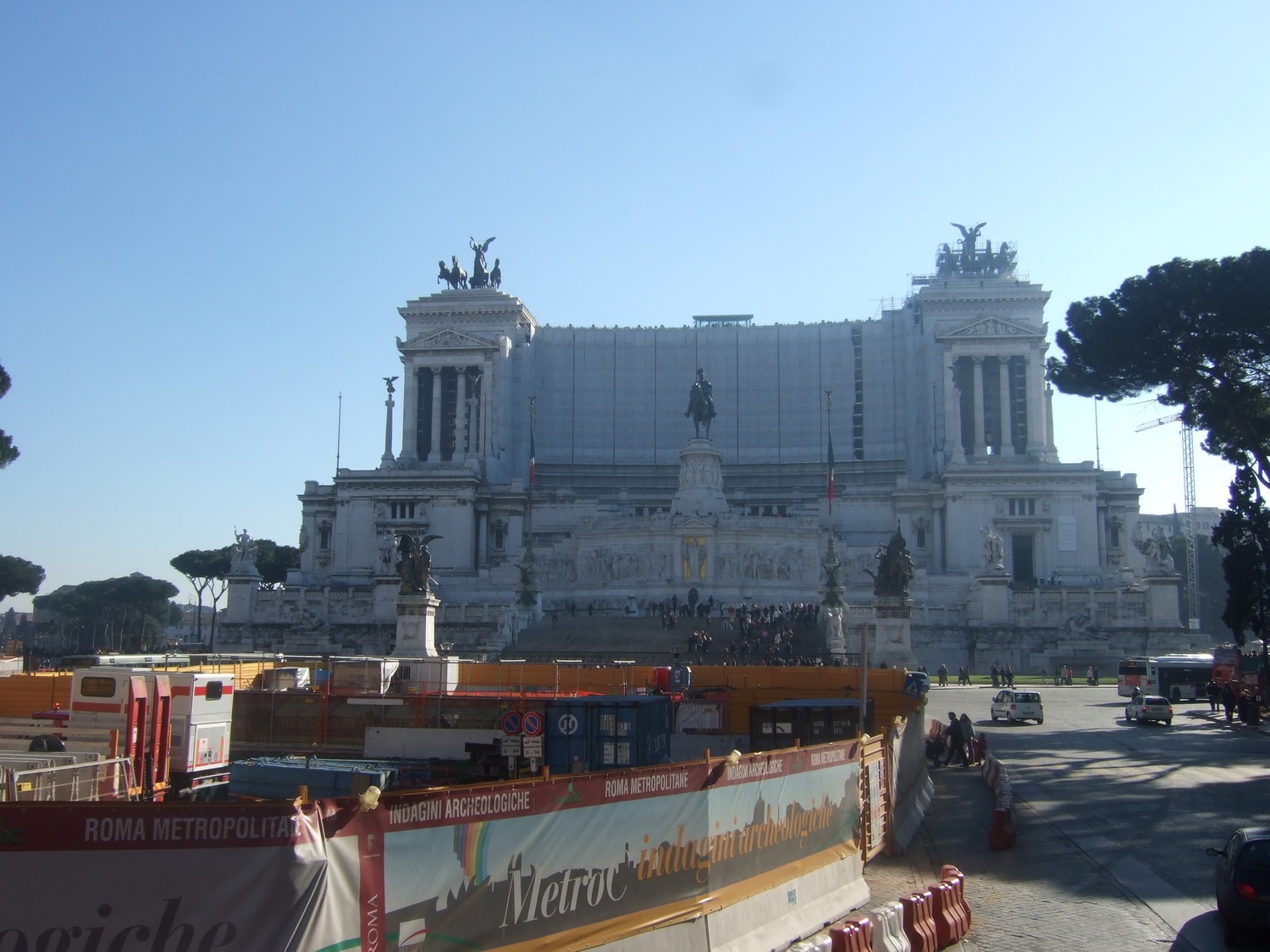 Tourist attractions. Victor Emmanuel II National Monument