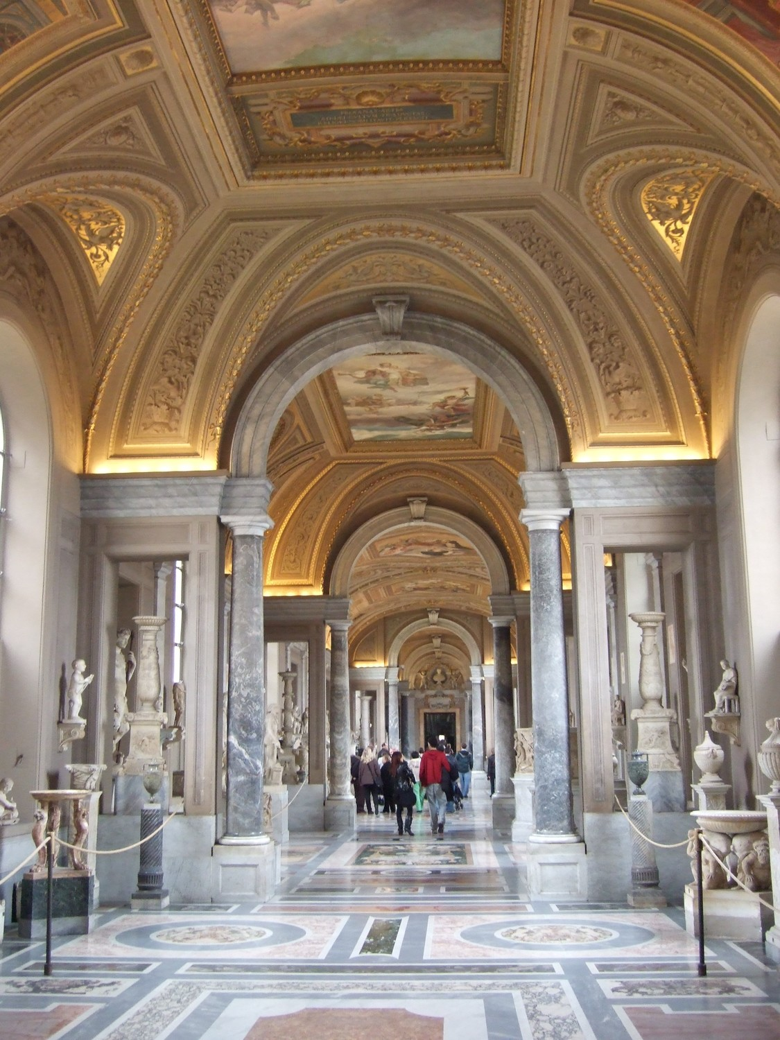 The Vatican City Museum. Roman and Greek sculpture collection