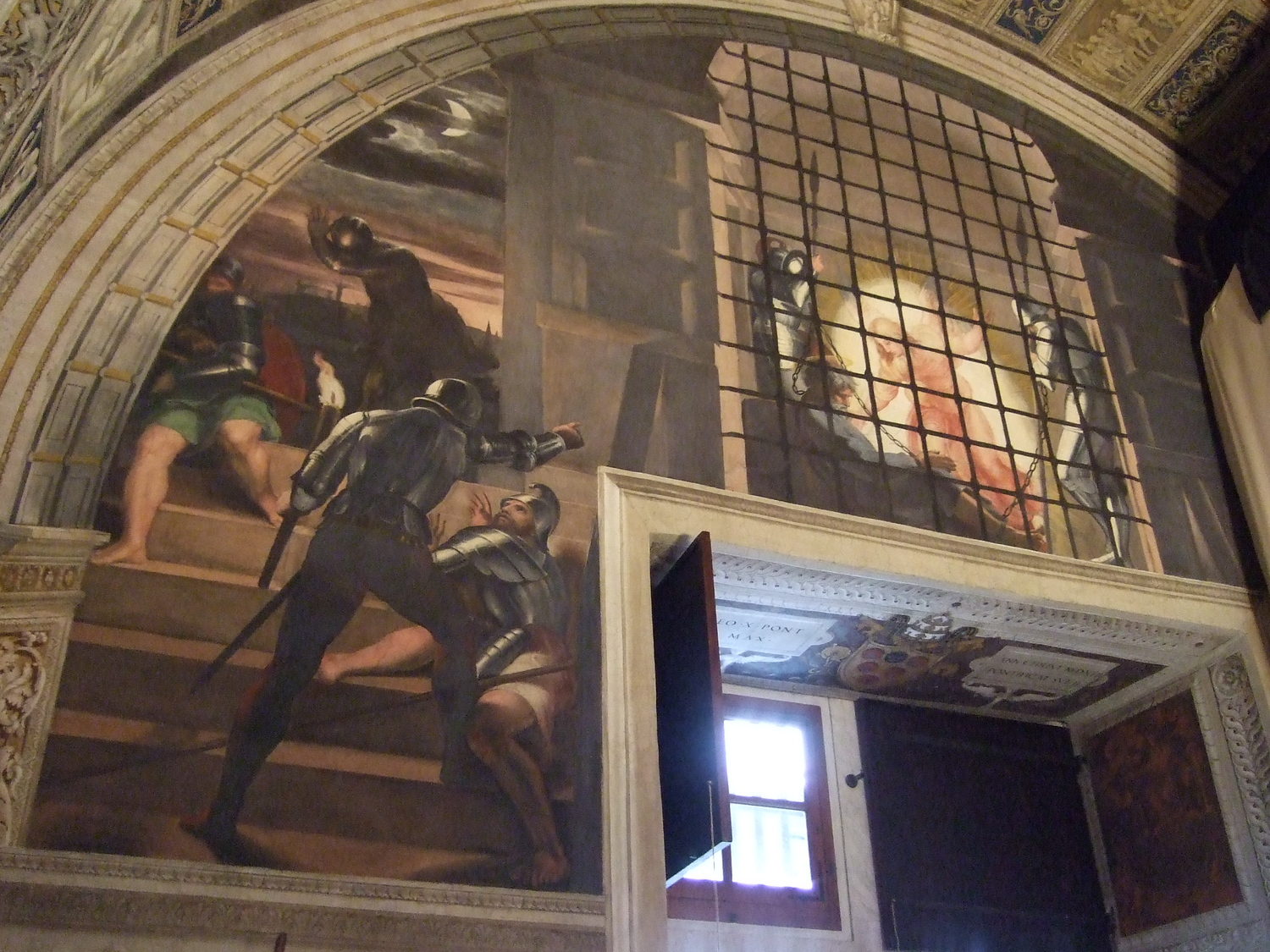 The Vatican City Museum. The Liberation of Saint Peter by Raphael