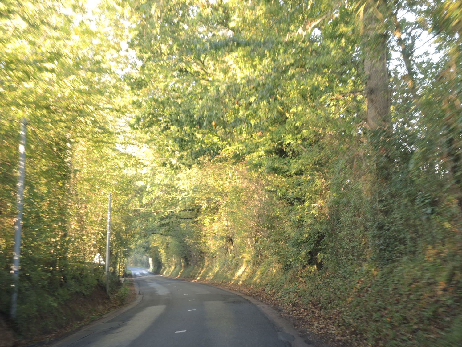 Travelling around Normandy by car