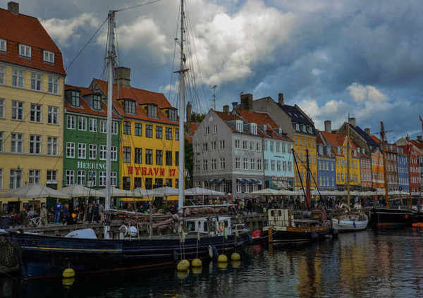 Trip to Copenhagen, Nyhavn - colorful houses in Copenhagen