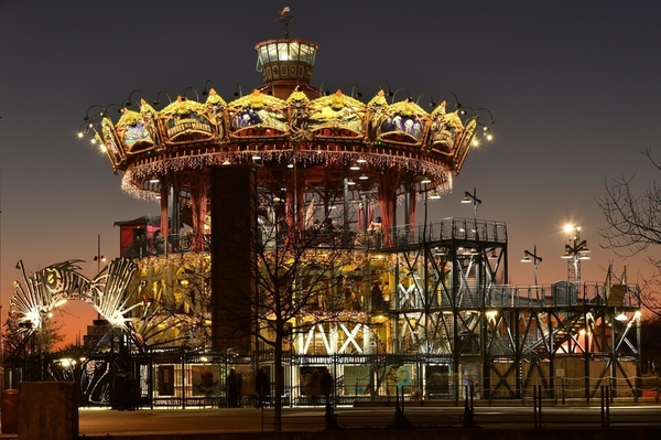 The Great Carrousel. Les Machines de l'île. Nantes (Loire-Atlantique) ©Jean-Dominique Billaud/LVAN