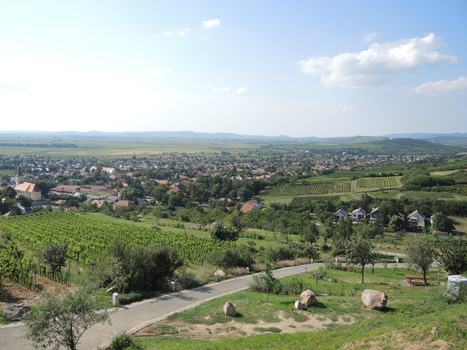 Trip to Hungary. Tokaj region, Tarcal city