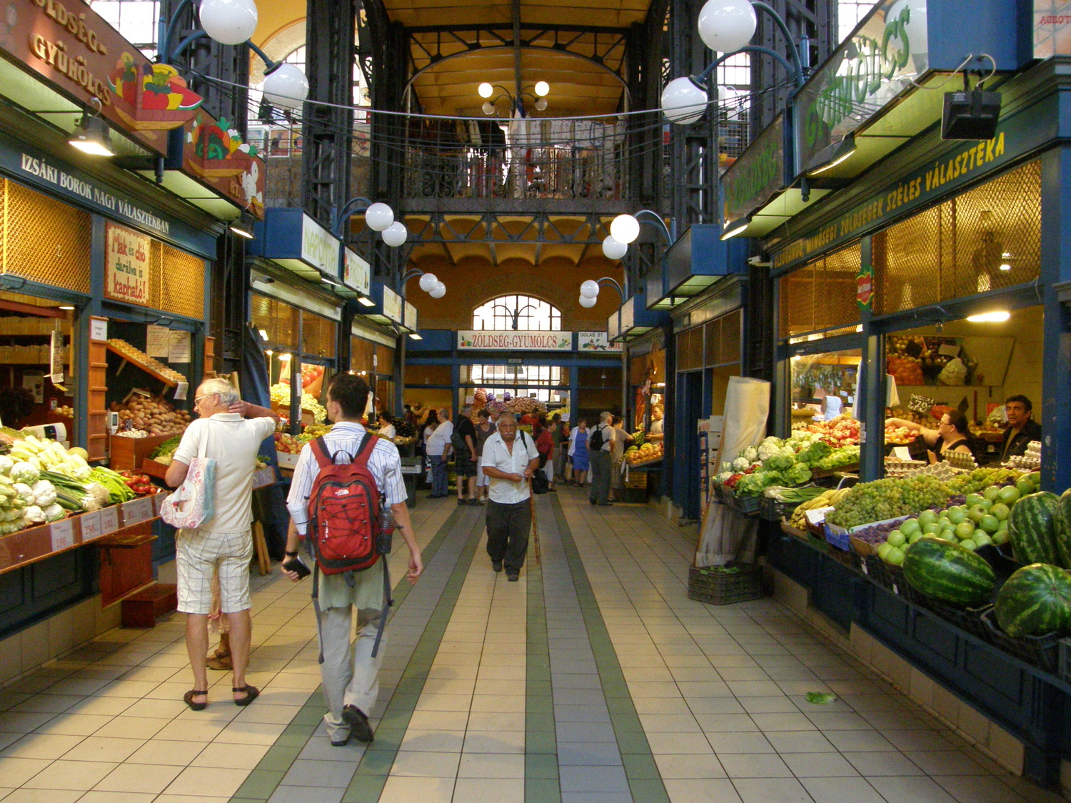 Trip to Hungary. Budapest market